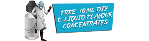 Free Sample of 10ml DIY E-liquid Flavour Concentrates