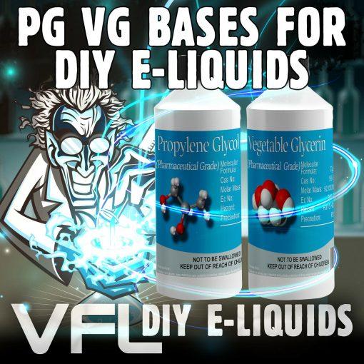 VG I PG VEGETABLE GLYCERINE & PROPYLENE GLYCOL Base Mix DIY E-Liquid Vape 0mg