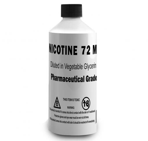 72mg Liquid Nicotine VG Base