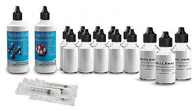 Vegetable Glycerine Polypropylene Glycol DIY E Mixing Kit Set Hookah VG Liquid