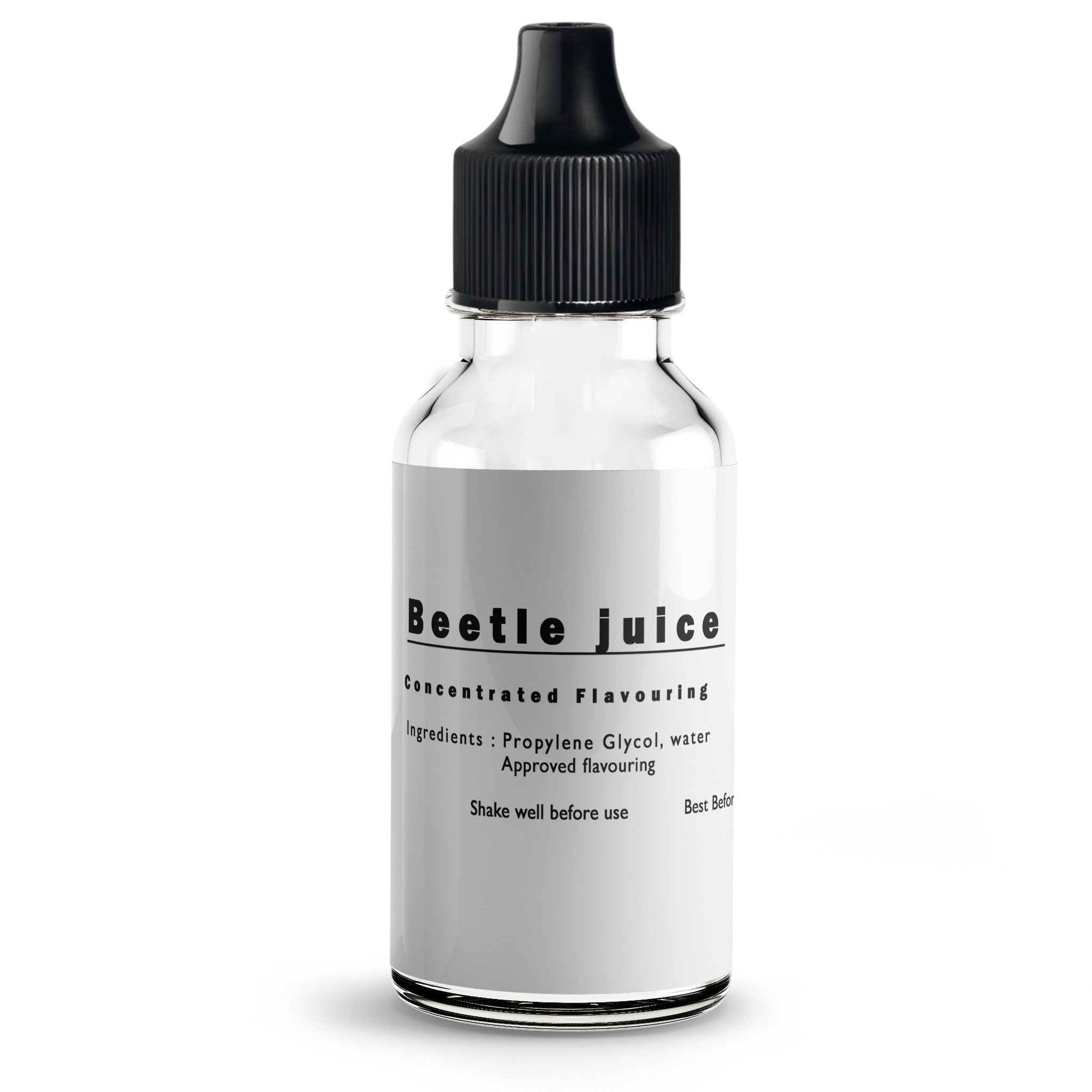 Beetle juice flavour concentrate for E liquids