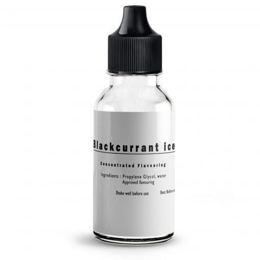 Blackcurrant Menthol Flavour concentrate for E Liquids