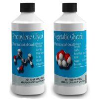Monopropylene Glycol (PG) & Vegetable Glycerine (VG) Pharmaceutical grade Diluent Pack