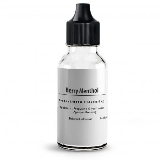 Mixed Berries & Menthol Flavour Concentrate For E Liquids