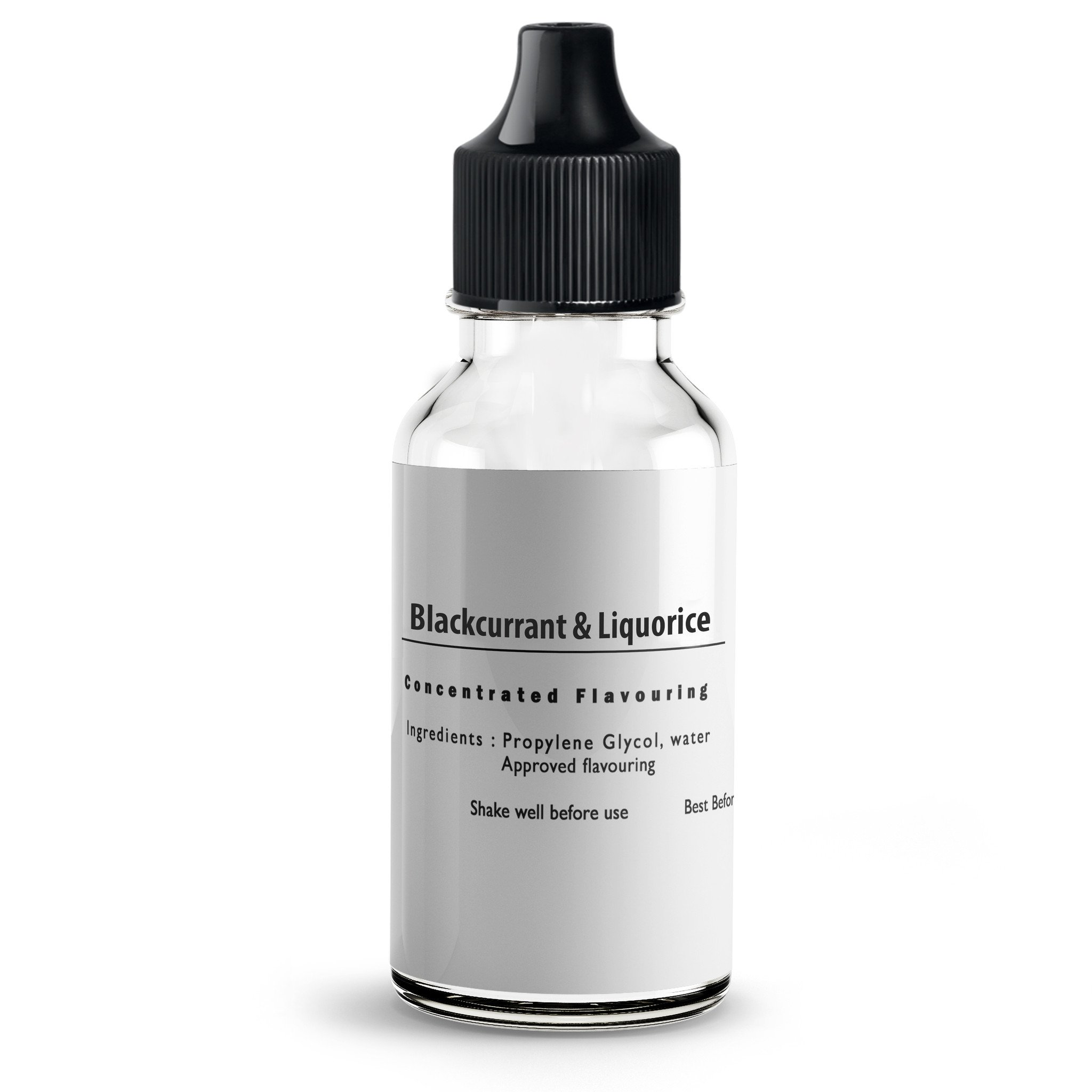 Blackcurrant & Liquorice Flavour Concentrate For E Liquids
