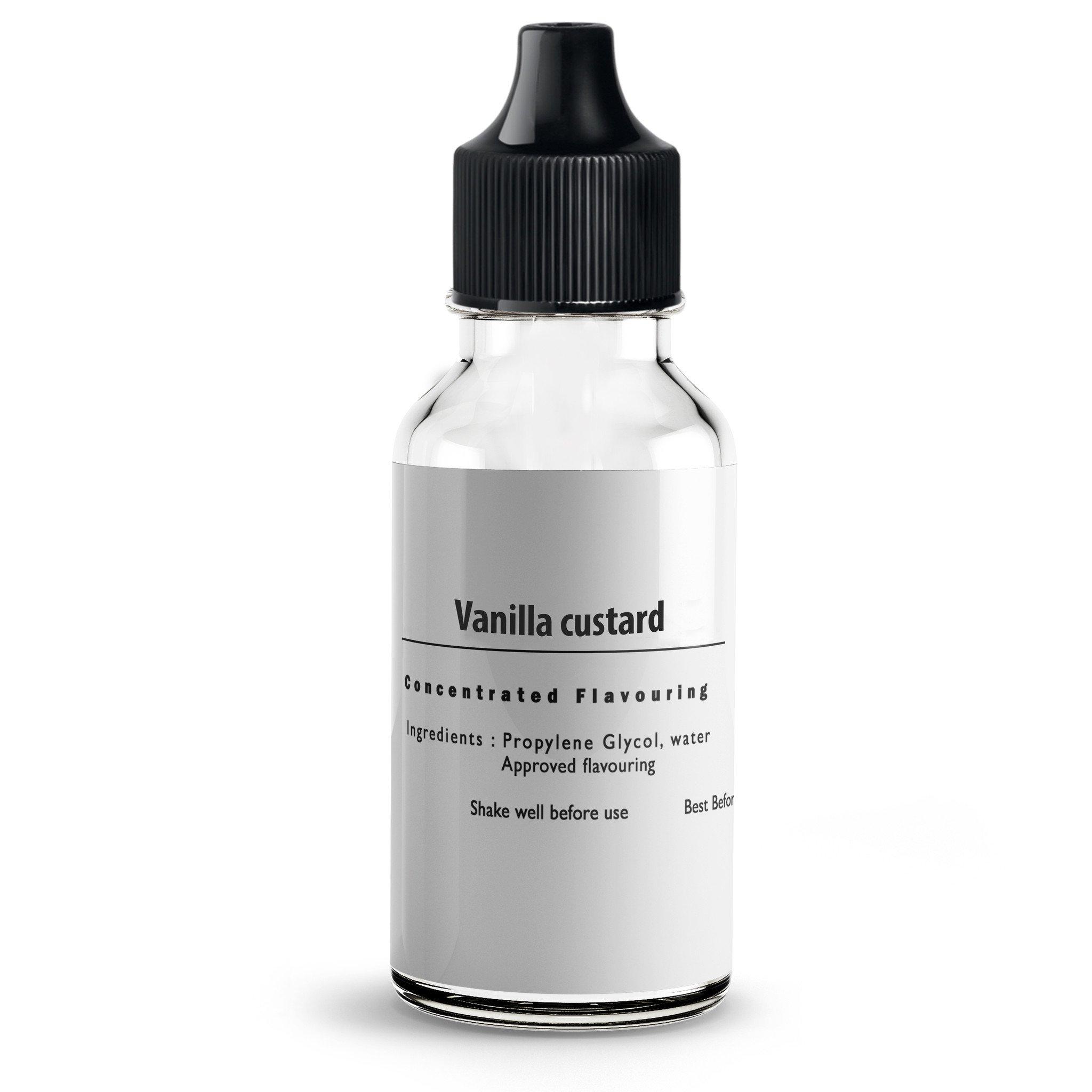 Vanilla Custard Flavour Concentrate For E Liquids