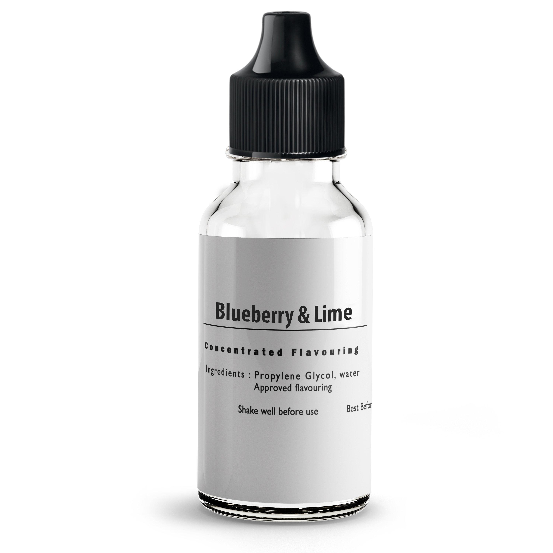 Blueberry & Lime flavour Concentrate for E liquids