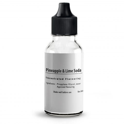 Pineapple & Lime Soda flavour Concentrate for E liquids